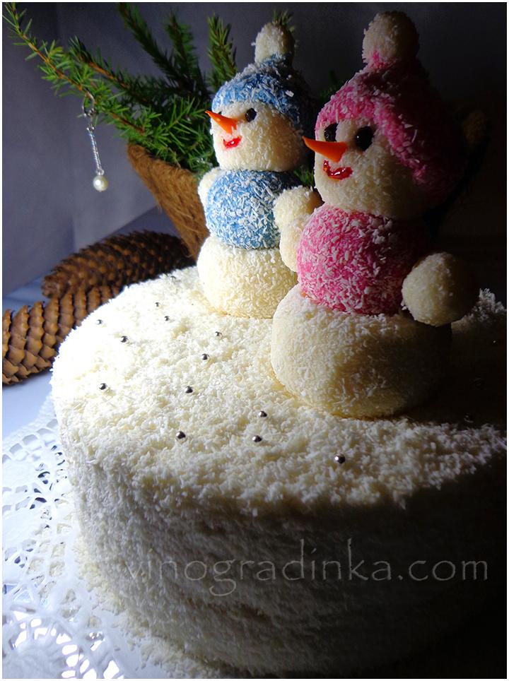 Торт новогодний рецепт с фото