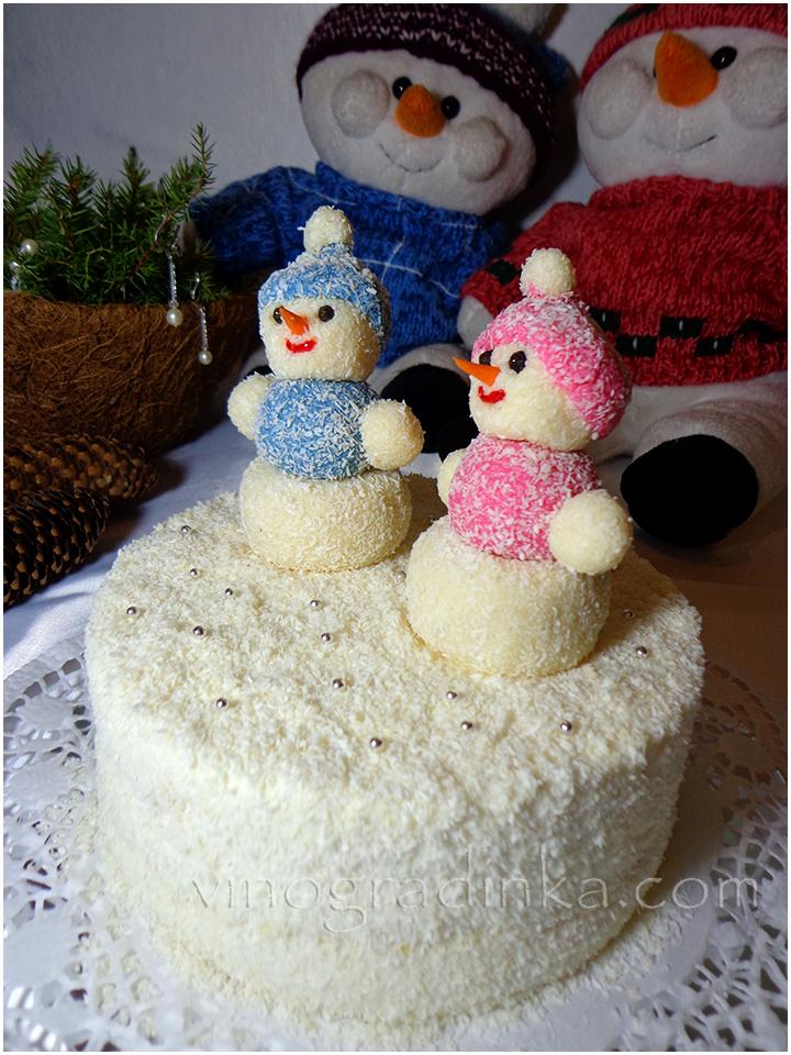 торт новогодний рецепт