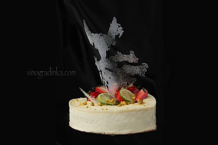 украшение торта изомальтом