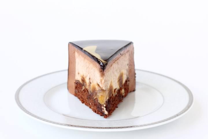 как разрезать муссовый торт