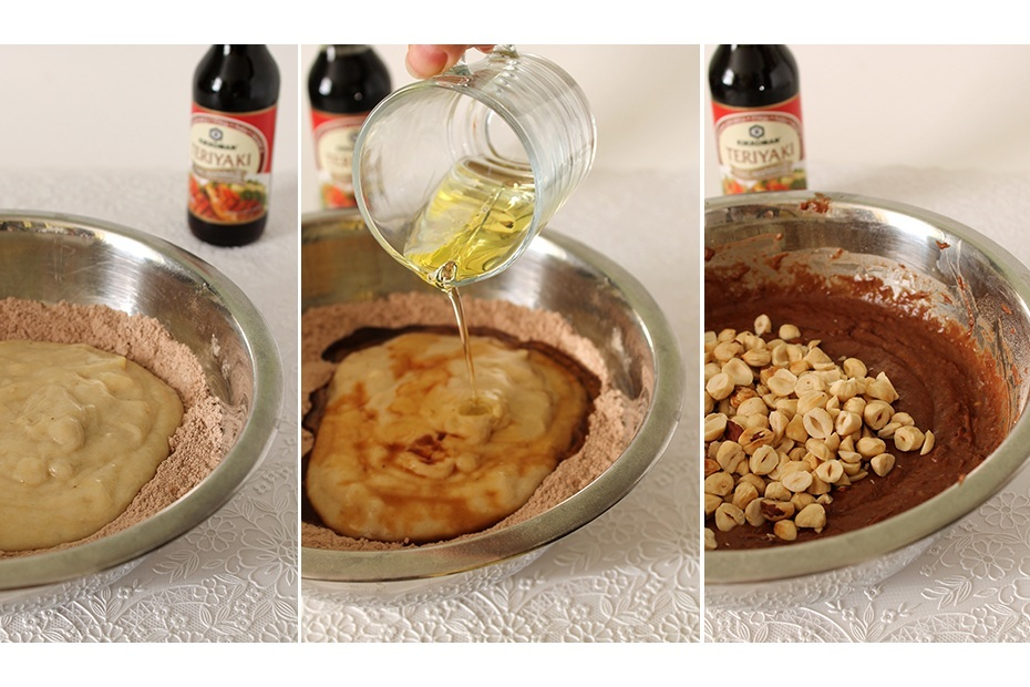 приготовление брауни с какао