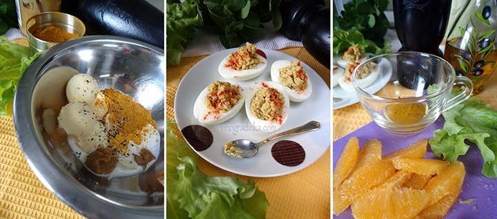салат из свежей капусты и яиц рецепт