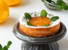 тарталетка с лимонной начинкой