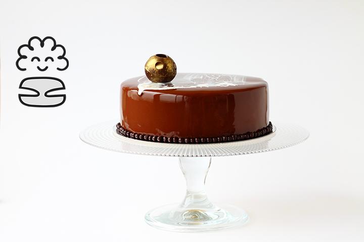 шоколадная глазурь на торте